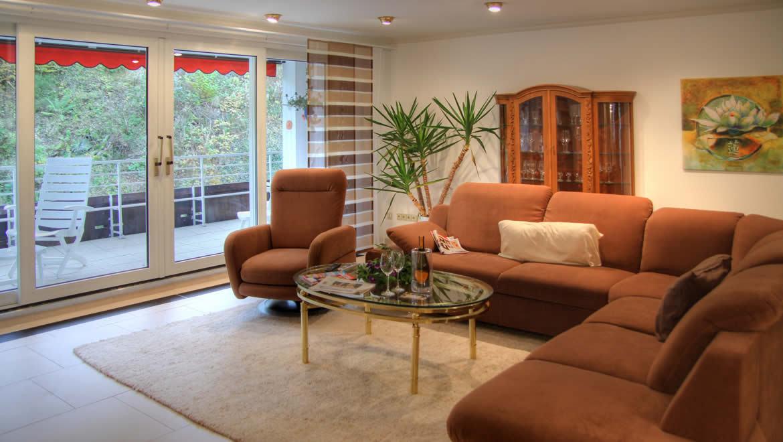 Wohnzimmer Aparthotel Jaegerhaus Willingen