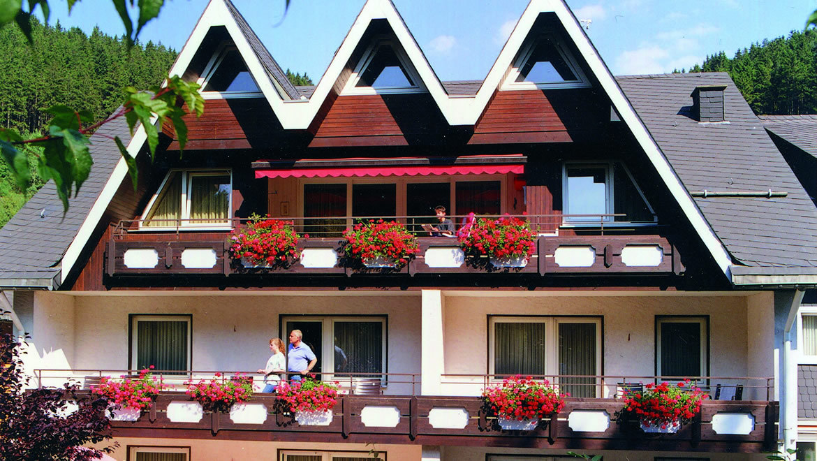 Aparthotel Jaegerhaus in Willingen
